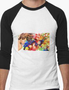 Dreaming in the garden Men's Baseball ¾ T-Shirt