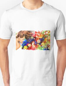 Dreaming in the garden Unisex T-Shirt
