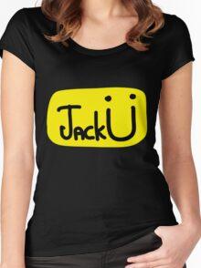 Jack U - Logo Women's Fitted Scoop T-Shirt