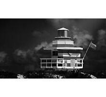 Lifeguard Station, Miami Beach Photographic Print