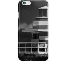 Lifeguard Station, Miami Beach iPhone Case/Skin