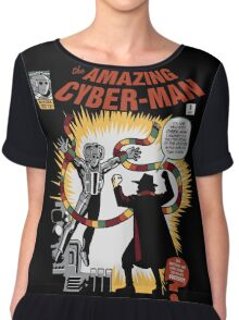 The Amazing Cyber-Man! Chiffon Top