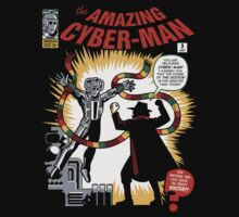 The Amazing Cyber-Man! Baby Tee
