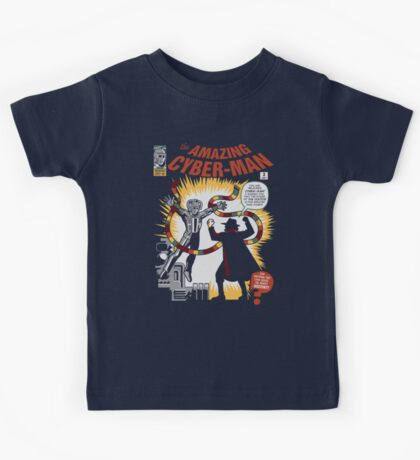 The Amazing Cyber-Man! Kids Tee