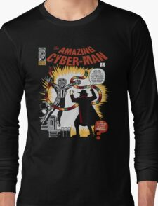 The Amazing Cyber-Man! Long Sleeve T-Shirt
