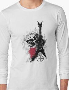 Trash Polka Dimebag Darrell Long Sleeve T-Shirt