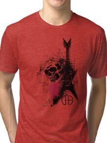 Trash Polka Dimebag Darrell Tri-blend T-Shirt