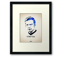 Icons - Captain Kirk Framed Print