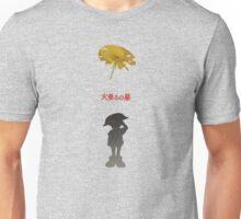 Ghibli Minimalist 'Grave of the Fireflies' Unisex T-Shirt