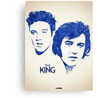 Icons - Elvis Presley Canvas Print