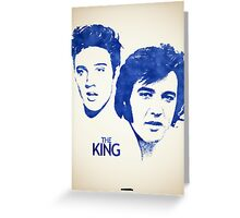 Icons - Elvis Presley Greeting Card