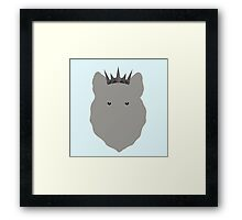 The Young Wolf Framed Print