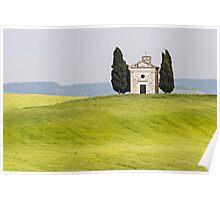 Tuscan Chapel Poster