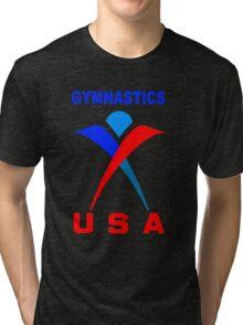 Team USA Gymnastic Olympics Tri-blend T-Shirt