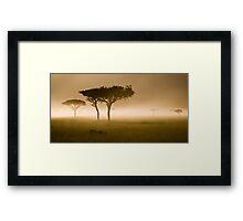 Masai Mara #2 Framed Print