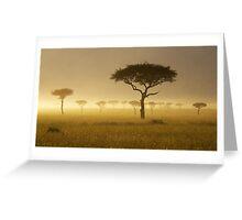Masai Mara #1 Greeting Card