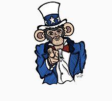 Uncle Sam Monkey Unisex T-Shirt