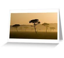 Masai Mara #3 Greeting Card
