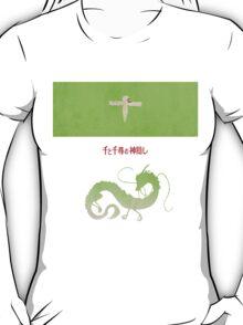 Ghibli Minimalist 'Spirited Away' T-Shirt