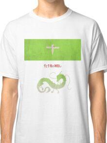 Ghibli Minimalist 'Spirited Away' Classic T-Shirt