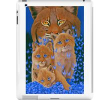 Bob  Cat Kittens iPad Case/Skin