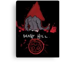 Silent Hill PyramidHead Canvas Print