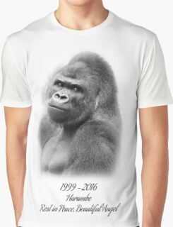Rest in Peace, Harambe Graphic T-Shirt