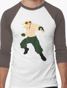 Minimalist Alex (Street Fighter Three) Men's Baseball ¾ T-Shirt
