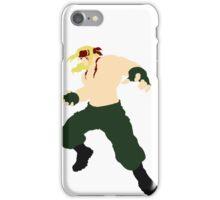 Minimalist Alex (Street Fighter Three) iPhone Case/Skin