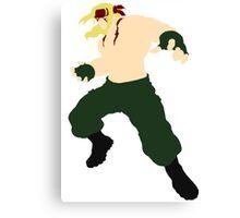 Minimalist Alex (Street Fighter Three) Canvas Print