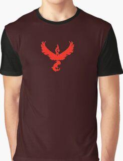 Pokemon Go - Team Valor (Dark) Graphic T-Shirt