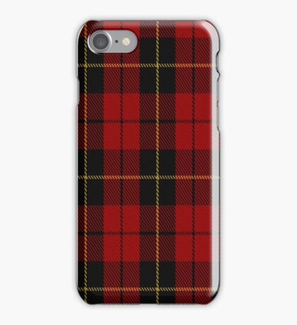 02052 Wallace Clan/Family Tartan  iPhone Case/Skin