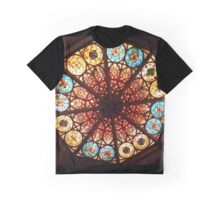Cathedral Stained Glass Graphic T-Shirt