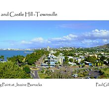 The Strand and Castle Hill -Townsville by Paul Gilbert