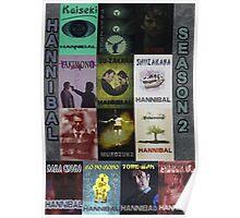 Hannibal - Season 2 Posterwall Poster