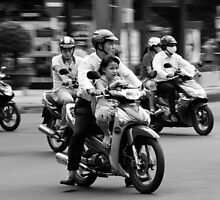 Traffic ... Ho Chi Minh City , Vietnam ... #02 by Malcolm Heberle