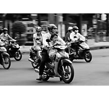 Traffic ... Ho Chi Minh City , Vietnam ... #02 Photographic Print