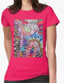 Turvy Womens Fitted T-Shirt