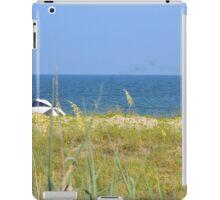 umbrella in the wind iPad Case/Skin