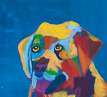 'Dog' by Zoe Nankivell (2016) by Peter Evans Art