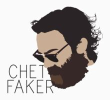 Chet Faker - Minimalistic Print Kids Clothes