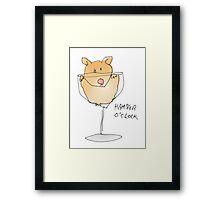 hamster time Framed Print