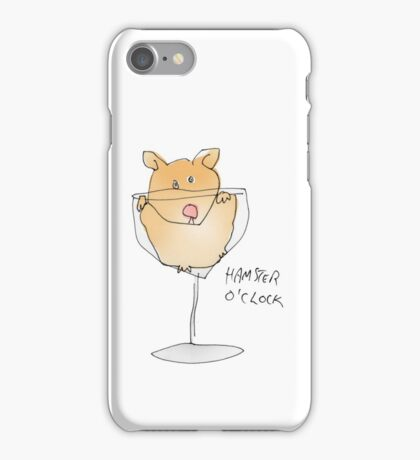 hamster time iPhone Case/Skin