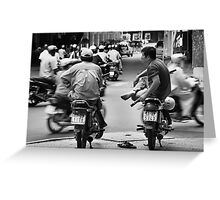 Time Out ... Ho Chi Minh City ... Vietnam Greeting Card