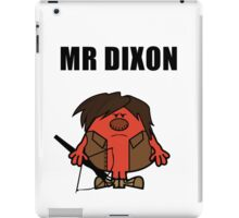 Mr Dixon iPad Case/Skin