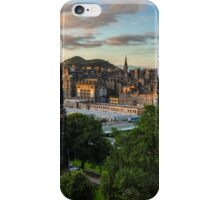 Auld Reekie at sunrise iPhone Case/Skin