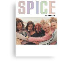 Spice girls 90s  Canvas Print