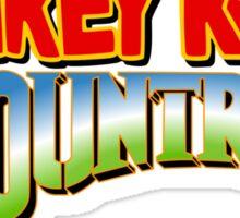 Donkey kong Country tank top Sticker