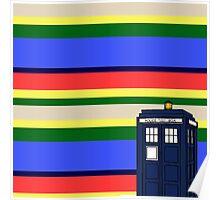 Tom Bakers TARDIS Poster