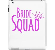 Bride Squad in Hot Pink iPad Case/Skin